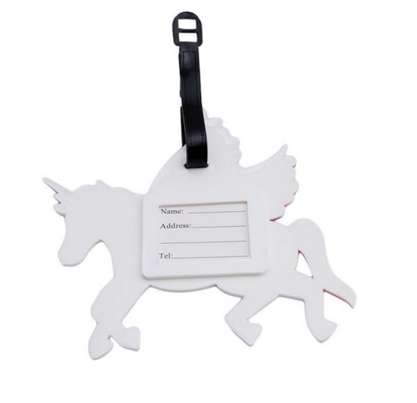 Pegasus lichtgewicht bagagelabel unicorn