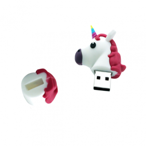 Emoji Unicorn USB stick eenhoorn