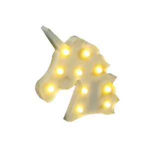 Unicorn eenhoorn paard lamp, nachtlampje of party