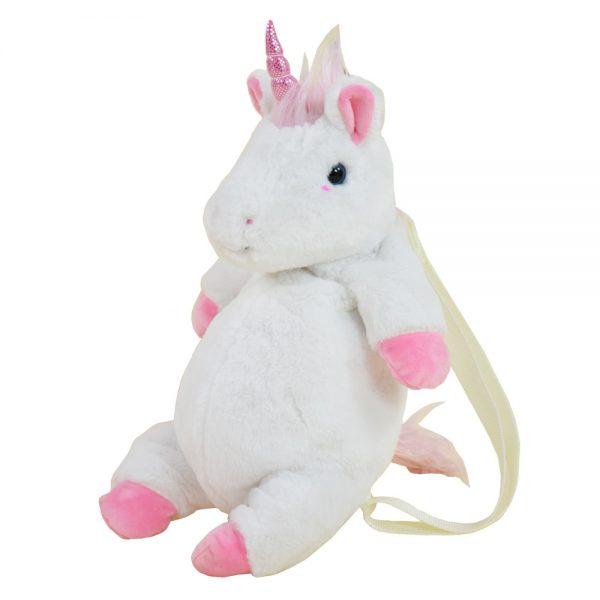 Unicorn rugzak knuffel kind