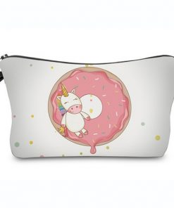 Emoji unicorn Toilettasje / eenhoorn make up tasje / etui