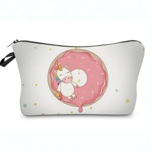 Emoji unicorn Toilettasje / eenhoorn make up tasje / etui