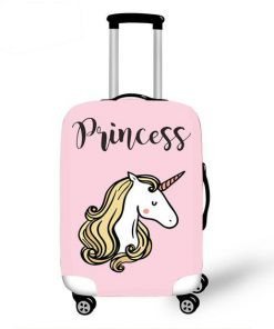 Unicorn princess Kofferhoes roze