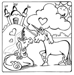 Kleurplaat Eenhoorn Om In Te Kleuren Unicornwebshop Nl