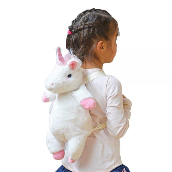 Eenhoorn rugzak knuffel kind