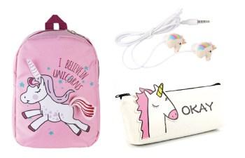 Unicorn schoolspullen, tassen, unicorn etuis en nog meer
