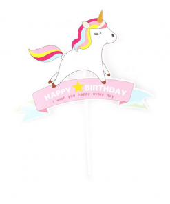 Unicorn Wish you happy every day