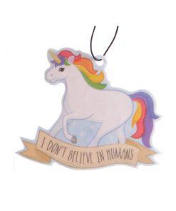 Rainbow unicorn luchtverfrisser