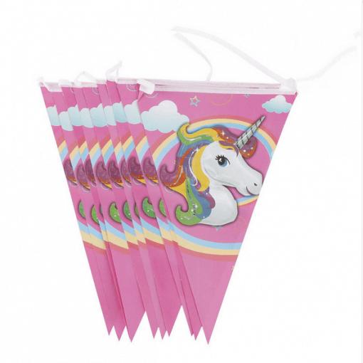 Unicorn vlaggenlijn, eenhoorn slinger