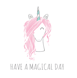 Unicorn webshop, Have a magical day