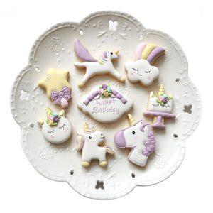 Unicorn koekjes maken