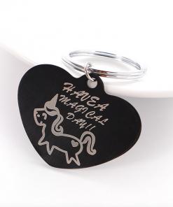 Unicorn tashanger hart, have a magical day