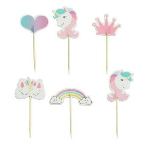 Unicorn prikkers voor een unicorn party
