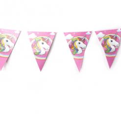 Kinderverjaardag vieren, eenhoorn slingers