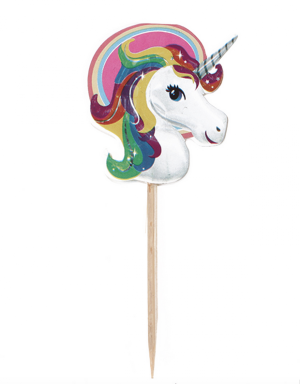 Unicorn worst of kaas prikker