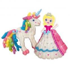 SES funmais Eenhoorn knutselpakket met prinses