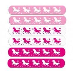 Eenhoorn Klaparmbanden 6 x uitdeelcadeautjes