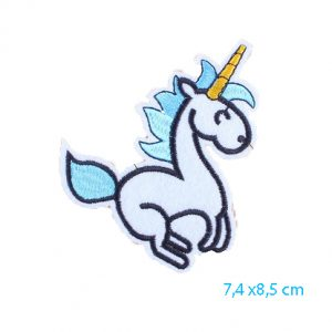 Unicorn patch, eenhoorn strijkapplicatie