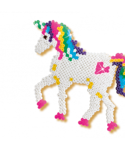 SES unicorn strijkkralen vorm