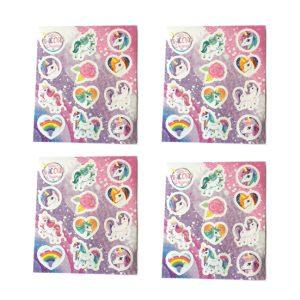 Unicorn stickers cadeau voor meisje