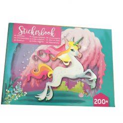 Eenhoorn stickerboek 200+