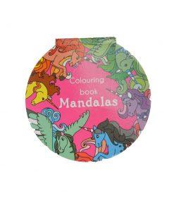Eenhoorn mandala kleurboek