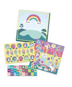 Unicorn sticker set doos cadeau meisjes
