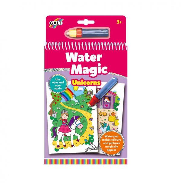 Eenhoorn water magic kleurboek
