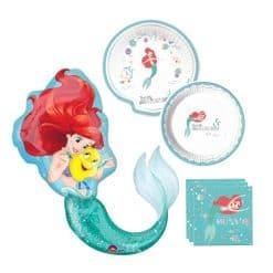 Zeemeermin feest pakket, Ariel de kleine zeemeermin