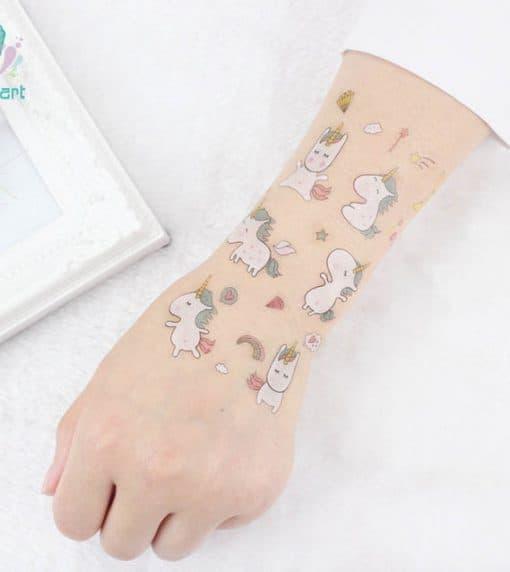 Eenhoorn tattoo kinderen