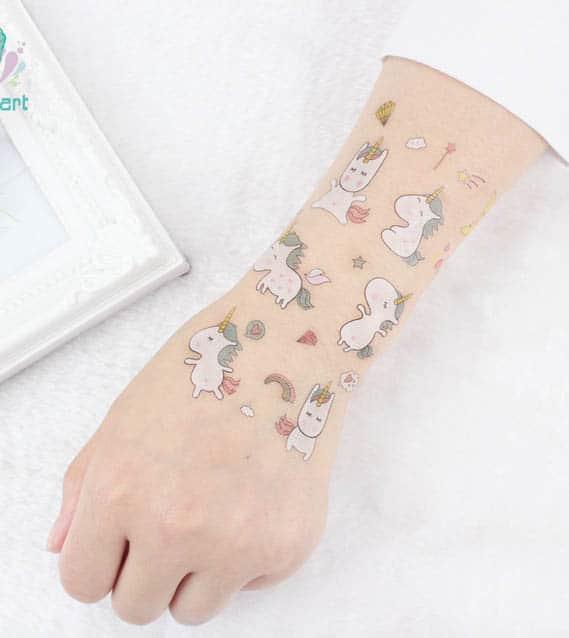 Eenhoorn Tattoo Voor Kinderen