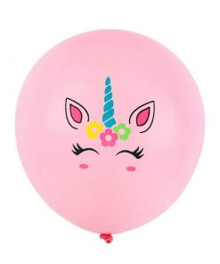 Eenhoorn ballon roze