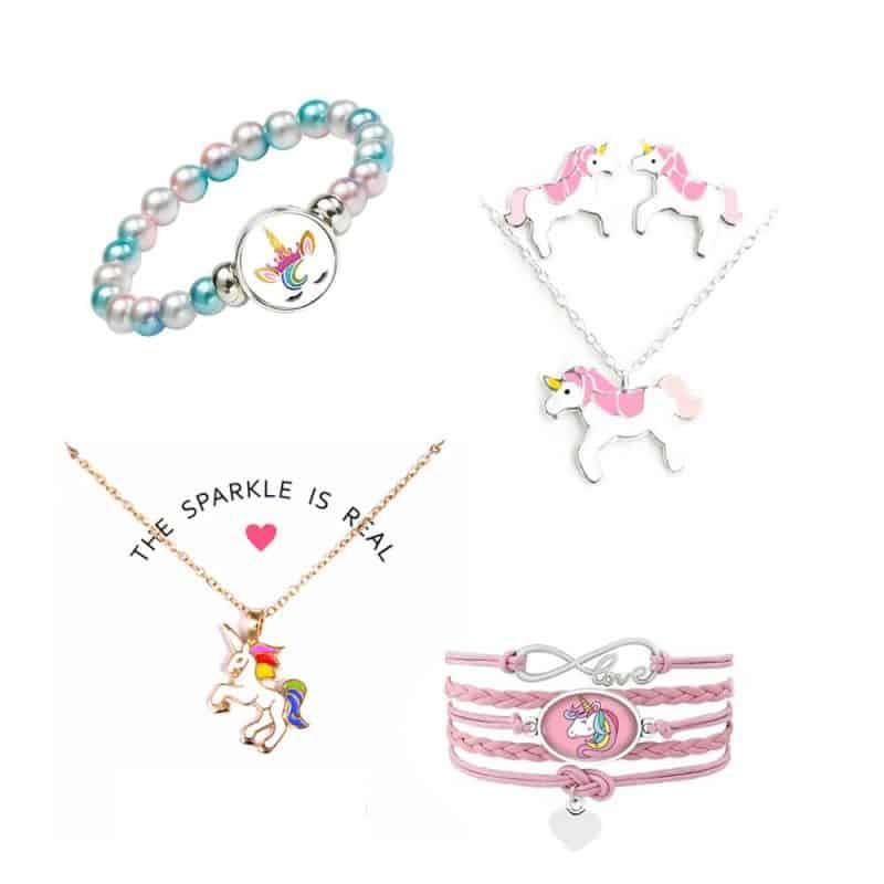 Eenhoorn sieraden, kettingen en armbanden