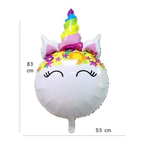 Eenhoorn folie ballon helium