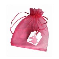 Eenhoorn cadeau zakje met label