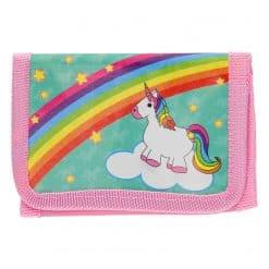 Eenhoorn portemonnee voor kind met regenboog
